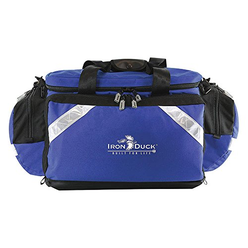 Iron Duck 32325-RB Ultra Soft Box Plus Trauma Bag with Deluxe Ergonomic Padded Shoulder Strap and Nylon Handles, Nylon, Royal Blue