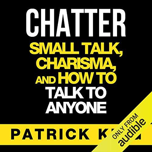 Chatter audiobook cover art