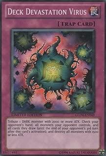 Yu-Gi-Oh! - Deck Devastation Virus (GLD4-EN049) - Gold Series 4: Pyramids Edition - Limited Edition - Common