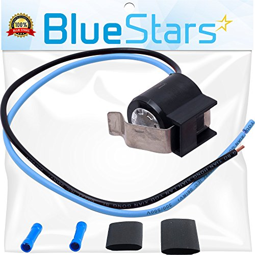 5303918214 Refrigerator Defrost Thermostat Kit by Blue Stars - Exact Fit for Frigidaire Kenmore Electrolux Refrigerators - Replaces 75303918214 892545 AP2150145 PS469522