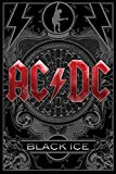 AC/DC - Black Ice - Musikposter Heavy Metal Hard Rock AC-DC