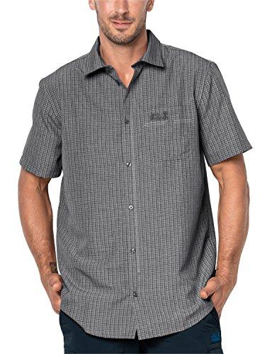 Jack Wolfskin Herren EL Dorado Shirt Hemd, Black Checks, L