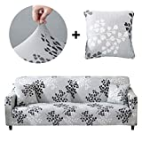 Best Couch Covers - Bikuer Printed Sofa Cover Stretch Couch Cover Sofa Review