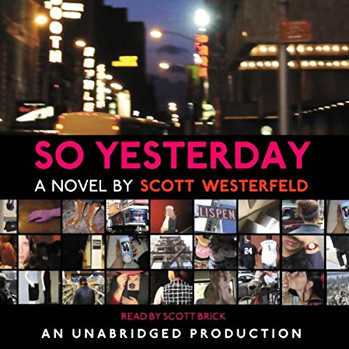 So Yesterday audiobook cover art