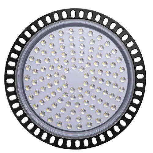 linjunddd UFO Led High Bay Licht 50w 50000lm 6000k-6500k Kalt Weiß Wasserdicht Ultra Thin Led-Lager-Beleuchtung Kommerzielle Bucht-Beleuchtung Für Garage Fitness Shop Werkstatt Nützliche Lampe