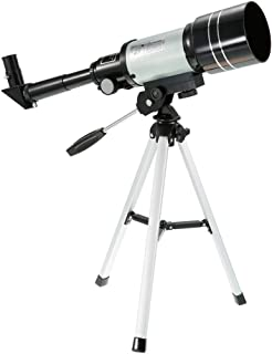 SZWLBT Astronomical Telescope with Tripod Outdoor HD Monocular 150X Refractive Space Astronomical Telescope Spotting Scope