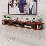 Wandbehang TV-Schrank, Schwebender TV-Standschrank, Wohnzimmer Home Office HäNgende TV-Konsole Wandhalterung Unterhaltungseinheit/A / 140CM