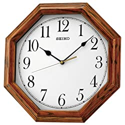 Seiko Wooden Wall Clock QXA529B