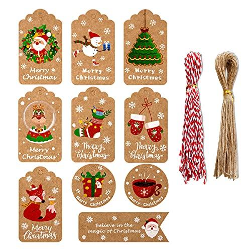 Etiquetas Navidad Español Marca Sikypaota
