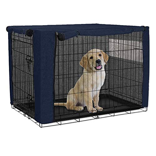 Chengsan - Copertura per gabbia per cani, in poliestere, protezione resistente e antivento, per...