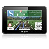 Mappy ULTIE521S_Ho GPS Auto 5' Europe de l'Ouest Bluetooth Noir