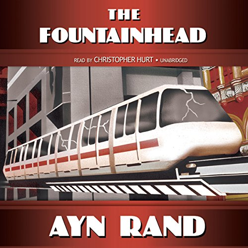 The Fountainhead audiobook cover art