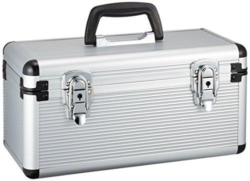 アイリスオーヤマ アルミケース 工具収納ケース 工具箱 W約34.5×D約17.5×H約19.5cm AM-34CD