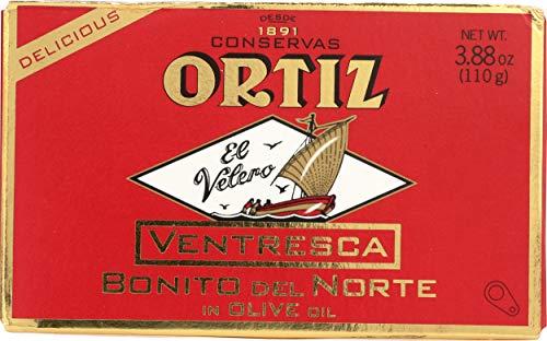Ortiz Ventresca White Tuna Belly in Oil, 110-Grams