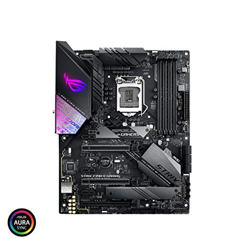 Asus ROG Strix Z390-E Gaming Motherboard LGA1151 (Intel 8th 9th Gen) ATX DDR4 DP HDMI M.2 USB...