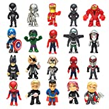 20 Pcs Mini Super Hero Action Sets...