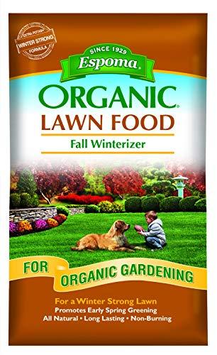 Espoma EOFW30 Organic Fall Fertilizer, 30-Pound
