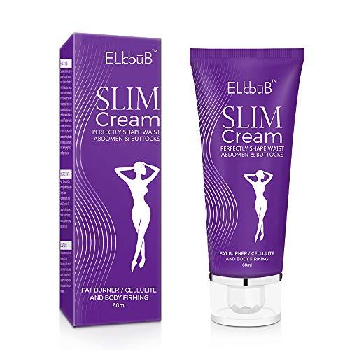Hot Cream,Firming Creme, straffende Crème aktiviert die Haut zur Verbesserung der Hautkontur, Fettverbrennungscreme, Fatburner-Creme, Schlankheitscreme FüR Bauch, HüFte, Beine 60ml