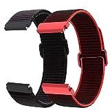 Younsea Correa Galaxy Watch 46 mm/Gear S3 Classic/Frontier/Galaxy Watch 3 45mm, Correa de Nailon 22mm de Liberación Rápida para Huawei Watch GT/GT 2 46mm/GT 2e/Fossil Gen 5