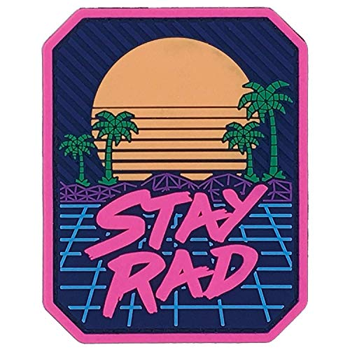 Stay Rad PVC Patch (Full Color)