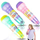 ArtCreativity Echo Microphones for Kids, Set of 6, Wireless Karaoke Mics for Children with Echo Effect, Durable and Lightweight Music Toys, Fun Supplies for Birthday, Picnic, BBQ, or Party