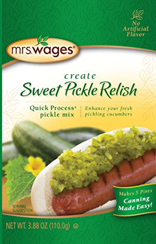 Mrs. Wages Sweet Pickle Relish Quick Process Mix (VALUE PACK of 12)