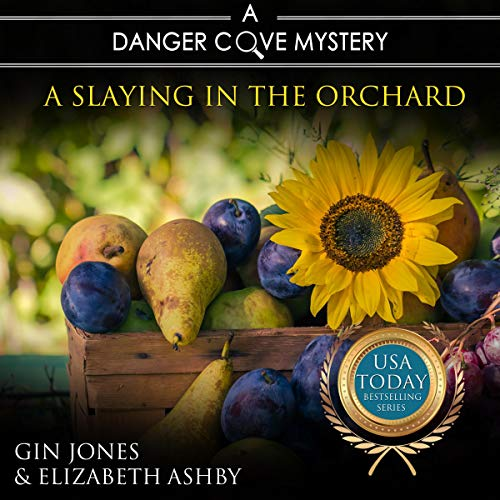 A Slaying in the Orchard Audiobook By Gin Jones, Elizabeth Ashby cover art