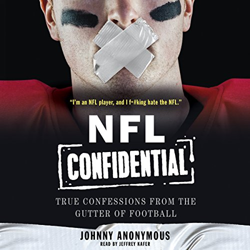 NFL Confidential audiobook cover art