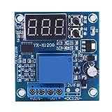 Plyisty Módulo de Placa de protección de bajo Voltaje, Interruptor de bajo Voltaje, hogar de 12 V para Control de Carga de Taller de reparación de protección de batería