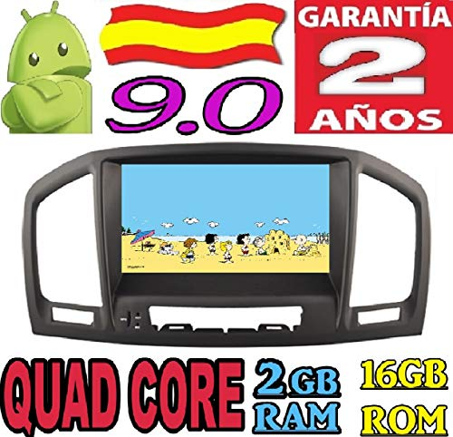 Opel Insignia Modelo CD200 / CD400 / CD600 Android 9.0 Quad Core 2GB RAM 16 GB ROM GPS Radio Coche DVD AUTORADIO WiFi 3g 4g navi navegador AÑO: 2008 2009 2010 2011 2012