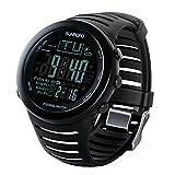 50m Wasserdicht Angeln Wettervorhersage Barometer Altimeter Thermometer Digital Smart Armbanduhr