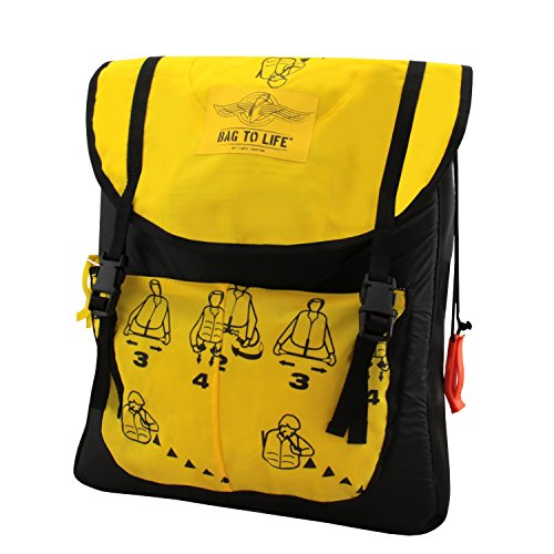 Bag to Life Cargo Backpack Rucksack Business Class Schwimmweste