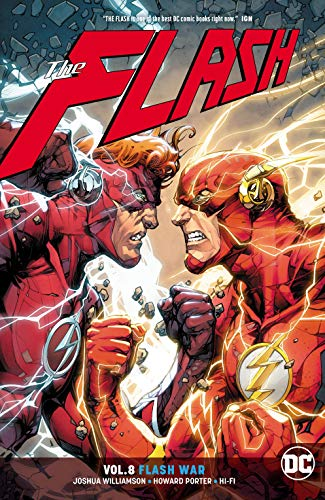 The Flash (2016-) Vol. 8: Flash War (English Edition) eBook ...