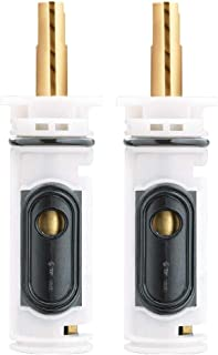 2 Pack Moen 1222 Replacement Shower Cartridge – For One-Handle PosiTemp Faucets & Moen Tub Showers, Slick Polished Finish - Made from the Markets Finest Metals & Plastics by Essential Values