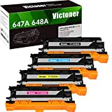 Victoner Compatible Toner CVictoner Compatible Toner Cartridge Replacement for HP 647A 648A CE260A CP4025 Toner for HP Color Laserjet Enterprise CP4025dn CP4025n CP4525dn CP4525n CP4525xh Toner