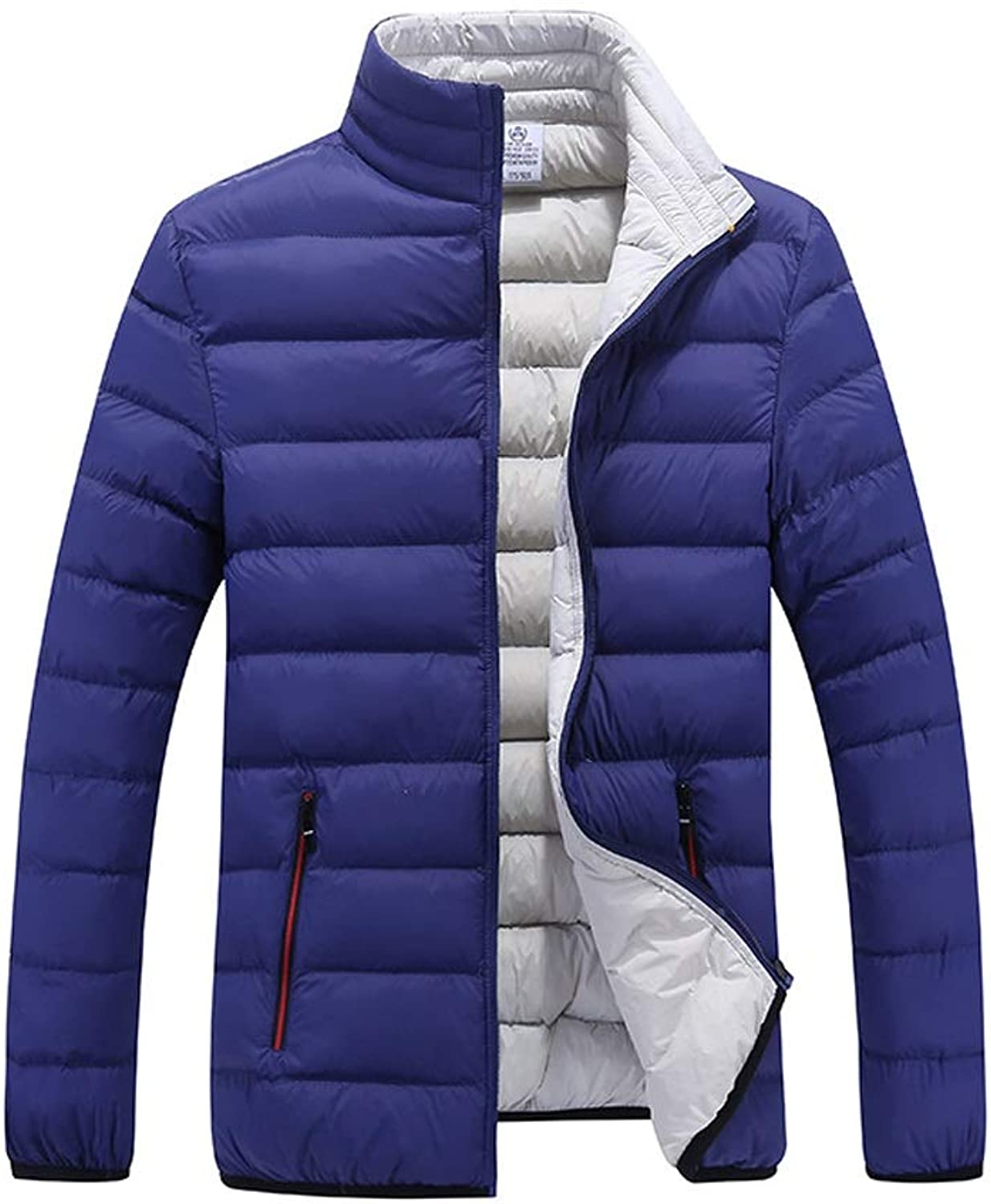 New Down Jacket, Men's Casual Short Loose Cotton Coat, Winter Outdoor Cold Warm Jacket, Light and Easy to Store and Carry