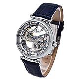 [カール・フォン・ツォイテン] スケルトン 腕時計 自動巻き ドイツ製 メンズ CVZ0031WH 正規輸入品