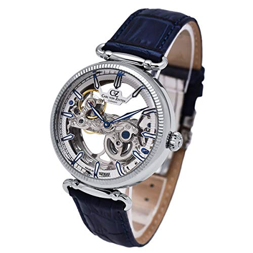 Carl von Zeyten Herren Uhr Armbanduhr Automatik Elzach CVZ0031WH
