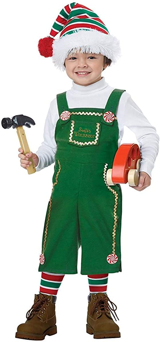 National uniform free shipping California Costumes Jolly Memphis Mall Lil' Toddler Elf Costume