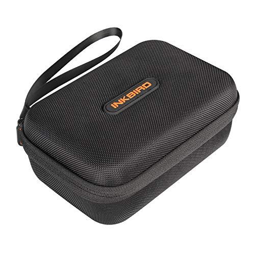 Inkbird Tragetasche für Reisespeicher kompatibel für IBBQ-4T, IBT-4XS und IBT-4XC Bluetooth Wireless Grill-Thermometer - 17x12x7,5cm