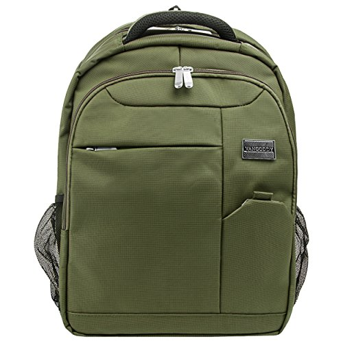Vangoddy Olive Green Germeni Backpack Carrying Case Sleeve for VAIO Z Canvas 12.3 inch Laptop, Tablet