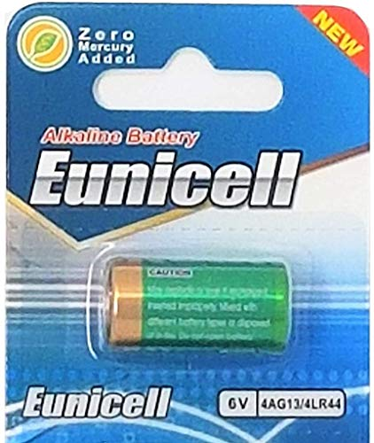 1 x 4LR44 4A76 4G13 SR1154 4SR44 6v Eunicell Alkaline Battery Batteries New