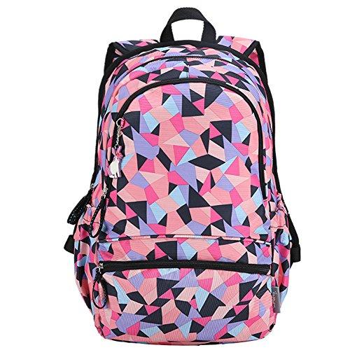 Outdoor peak sac à dos d'ordinateur portable scolaire fille enfant tacheté nylon