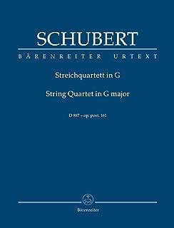 Schubert: String Quartet in G Major, Op. post. 161, D 887 [Study Score]