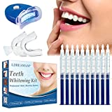 Emblanquiment Dents, Kit d'Emblanquiment Dental, Blanquejador Dental, Gel Blanquejador de Dents,*Teeth *Whitening Kit,Contra Dents Grogues,Taques de Fum,Dents Negres