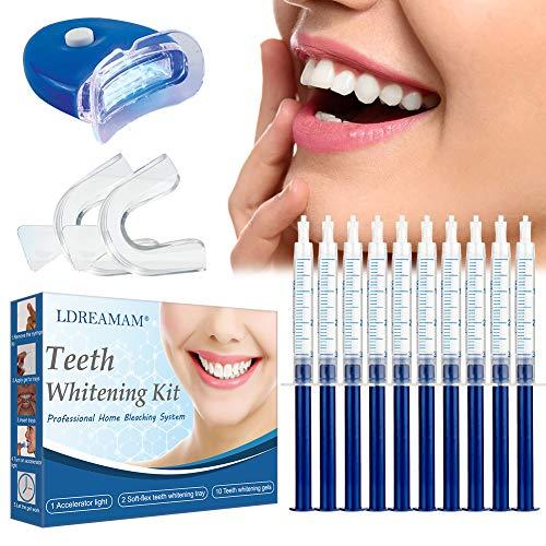 Sbiancamento Denti, Kit Sbiancante Denti, Gel Sbiancante Denti,Teeth Whitening Kit, Rimuove Denti Macchie e Riduce Sensibilità dei Denti, Per Pulizia e Sbiancamento dei Denti