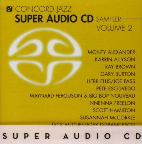 Vol. 2-Concord Jazz Super Audio Cd Sampler