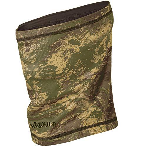 Härkila Lynx wendbarer Rohrschal AXIS MSP® Camouflage - Halswärmer mit antibakterieller Polygiene® Behandlung - Mundschutz mit digital Camouflage Muster