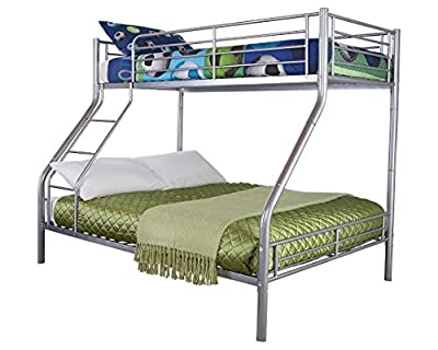 GFW Ohio Triple Sleeper Bunk Bed - Double Bed Base and Single on Top.