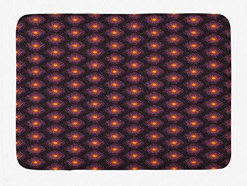 LDHHZ Felpudo divertido tapete de baño con base antideslizante para decoración de baño, diseño abstracto y peculiar, 40 x 60 cm